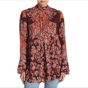 NWT Free People Lady Luck Tunic Top